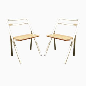 Folding Chairs by Giorgio Cattelan for Cidue, 1970s, Set of 2