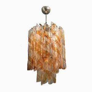 Murano Glass Chandelier by Gino Vistosi, 1960s