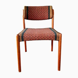 Vintage Danish Teak Dining Chairs by H. W. Klein for Bramin, 1950s, Set of 6