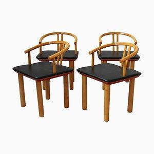 Italienische Esszimmerstühle, 1978, 4er Set