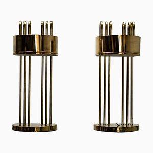 Art Déco Tischlampen von Marcel Breuer, 1920er, 2er Set