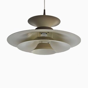 Mid-Century Danish Radius Ceiling Lamp by Eric Baslev for Fog & Mørup