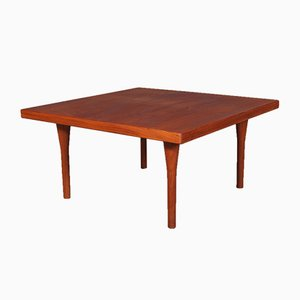 Table Basse en Teck par Illum Wikkelsø pour Søren Wiladsen, 1970s