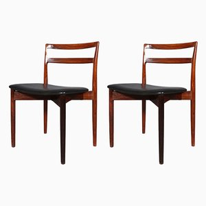 Rosewood Dining Chairs by Harry Østergaard for Randers Møbelfabrik, 1960s, Set of 2