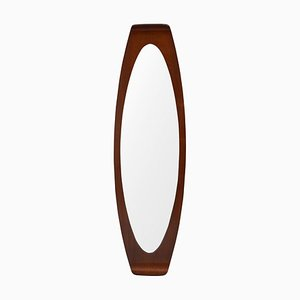 Curved Plywood Mirror by Franco Campo for Disegno Graffi Home, 1958