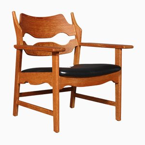 Mid-Century Lounge Chair by Henning Kjærnulf for Eg møbler
