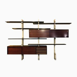 Italian Rosewood Shelf from Amma, 1960s