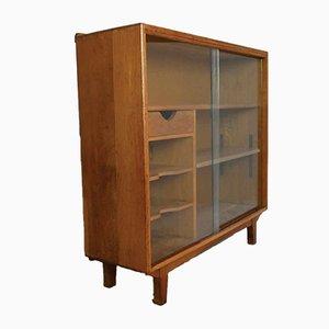 Mid-Century Solid Oak Bookshelf