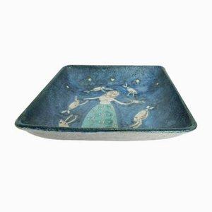 Keramikschale von Ceramiche Liguori, 1950er