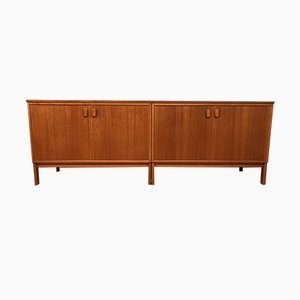 Mid-Century Danish High Sideboard from Ulferts Möbler