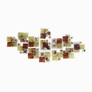 Wandleuchten von Toni Zuccheri für Venini, 1970er, 13er Set