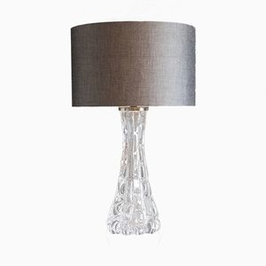 Swedish Table Lamp by Carl Fagerlund for Orrefors, 1950s