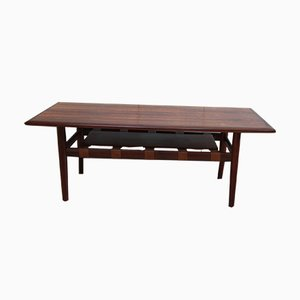 Danish Rosewood Coffee Table by Grete Jalk for Glostrup, 1960s