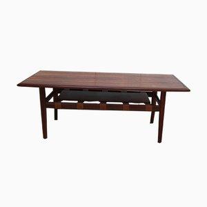 Table Basse en Palissandre par Grete Jalk pour Glostrup, Danemark, années 60