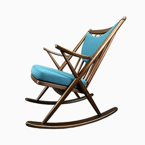 Danish Rocking Chair by Frank Reenskaug for Bramin Møbler, 1960s