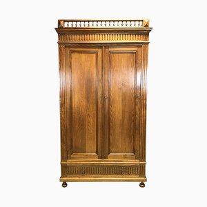 Vintage Chestnut Cabinet Wardrobe
