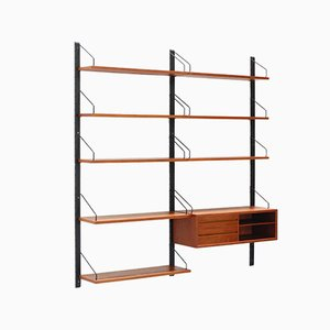 Danish Teak Shelving Unit by Poul Cadovius for Cado, 1960s