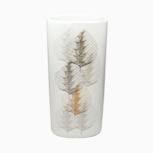 Vase Mid-Century en Porcelaine par Lorenz Hutschenreuther pour Hutschenreuther Selb, années 60