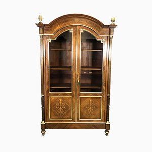 Antique Louis XVI Style Rosewood Wall Unit