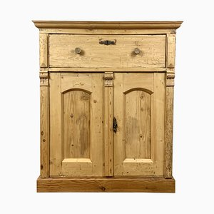 Antique English Pinewood Buffet