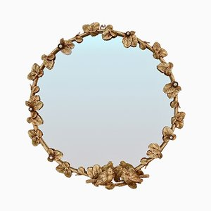 Gilt Bronze Wall Mirror from Fondica, 1990s