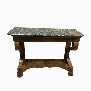 Konsolentisch aus Nussholzfurnier, 1799