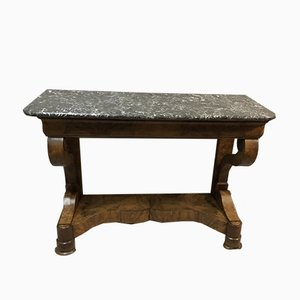 Walnut Veneer Console Table, 1799