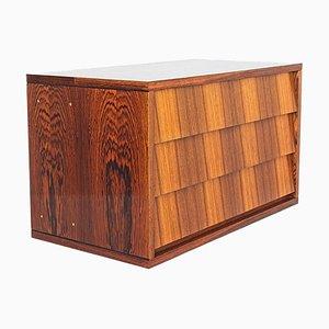Mueble de pared modular de palisandro de Alfred Hendrickx para Belform, años 60
