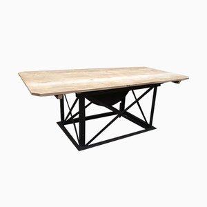 Table Industrielle Vintage, années 50