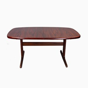 Danish Rosewood Extending Dining Table from Skovby, 1970s