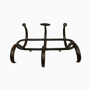 Antique Model S3 Dark Brown Bentwood Coat Rack by Thonet