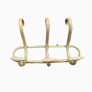 Antique Model S3 Ivory Bentwood Coat Rack by Thonet