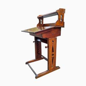 Antike Werkbank oder Schreibtisch