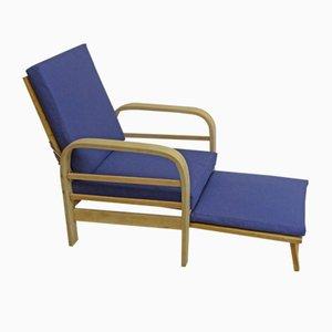 Chaise longue vintage, anni '40