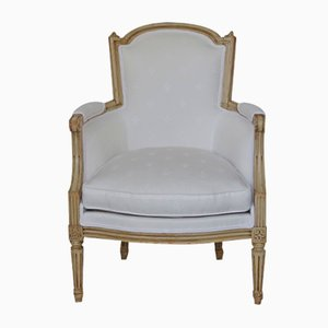 Antique Louis XVI Style Lounge Chair