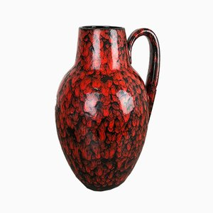 Vintage Fat Lava Model 270-38 Vase from Scheurich