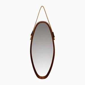 Mid-Century Oval Mirror