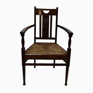 Art Deco Rosewood Armchair from De Coene, 1920s