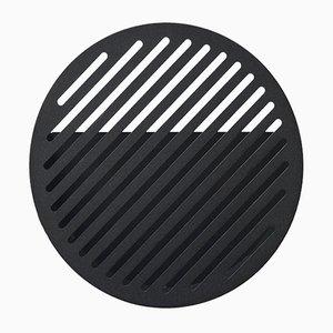 Petit Panier Mural Diagonal Noir par Andreasson & Leibel pour Swedish Ninja