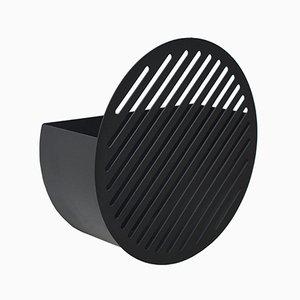 Contenedor de pared Diagonal pequeño en negro de Andreasson & Leibel para Swedish Ninja