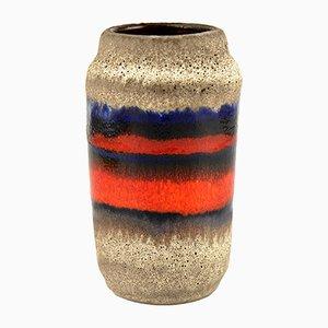 Mid-Century Ceramic Lava Type 231/15 Vase from Fohr Keramik