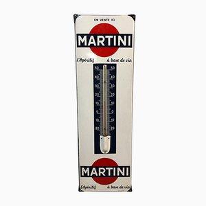 Emaillierter Martini Thermometer von Vox, 1950er