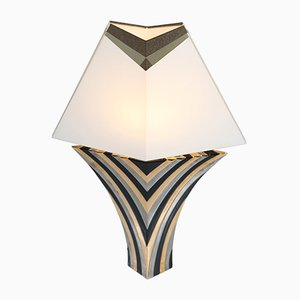 Italian Ceramic Table Lamp from Sigma L2, 1970s