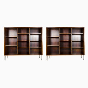 Mid-Century Danish Rosewood Shelves, Set of 2