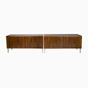 Mid-Century Danish Rosewood Sideboards by Unknown for Unknown, Set of 2