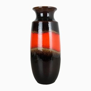 Large Vintage Model 238-41 German Fat Lava Vase from Scheurich