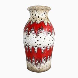 Große Vintage Modell 290-40 Fat Lava Vase von Scheurich