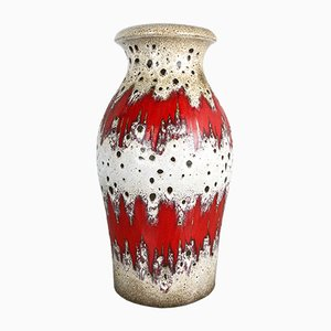 Large Vintage Model 290-40 Fat Lava Vase from Scheurich