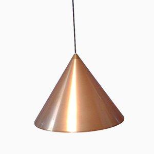Lampe à Suspension Mid-Century en Cuivre
