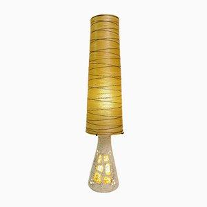 Lámpara de pie vintage de cerámica y resina de Accolay